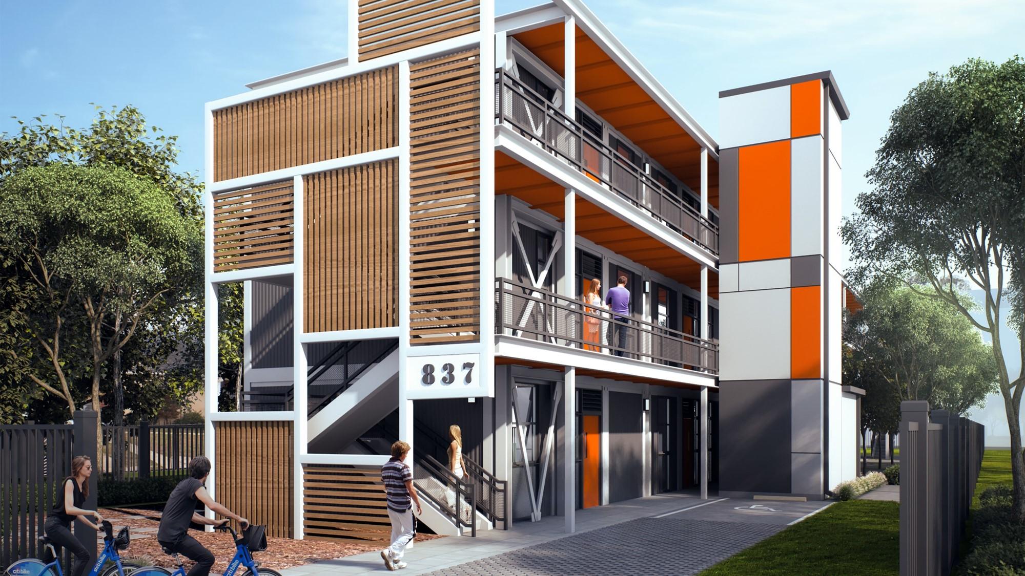 Flyaway Homes rendering