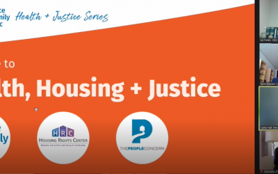 Health, Housing + Justice