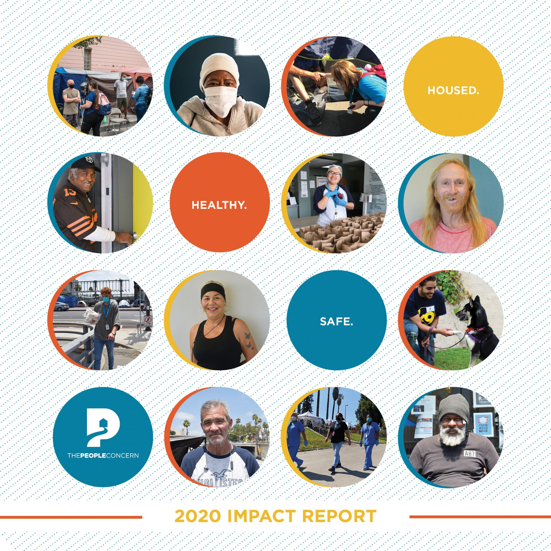 2020 Impact Report cover digital