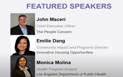 SCANPH & Enterprise Community Partner's host a Resident Services Seminar with John Maceri