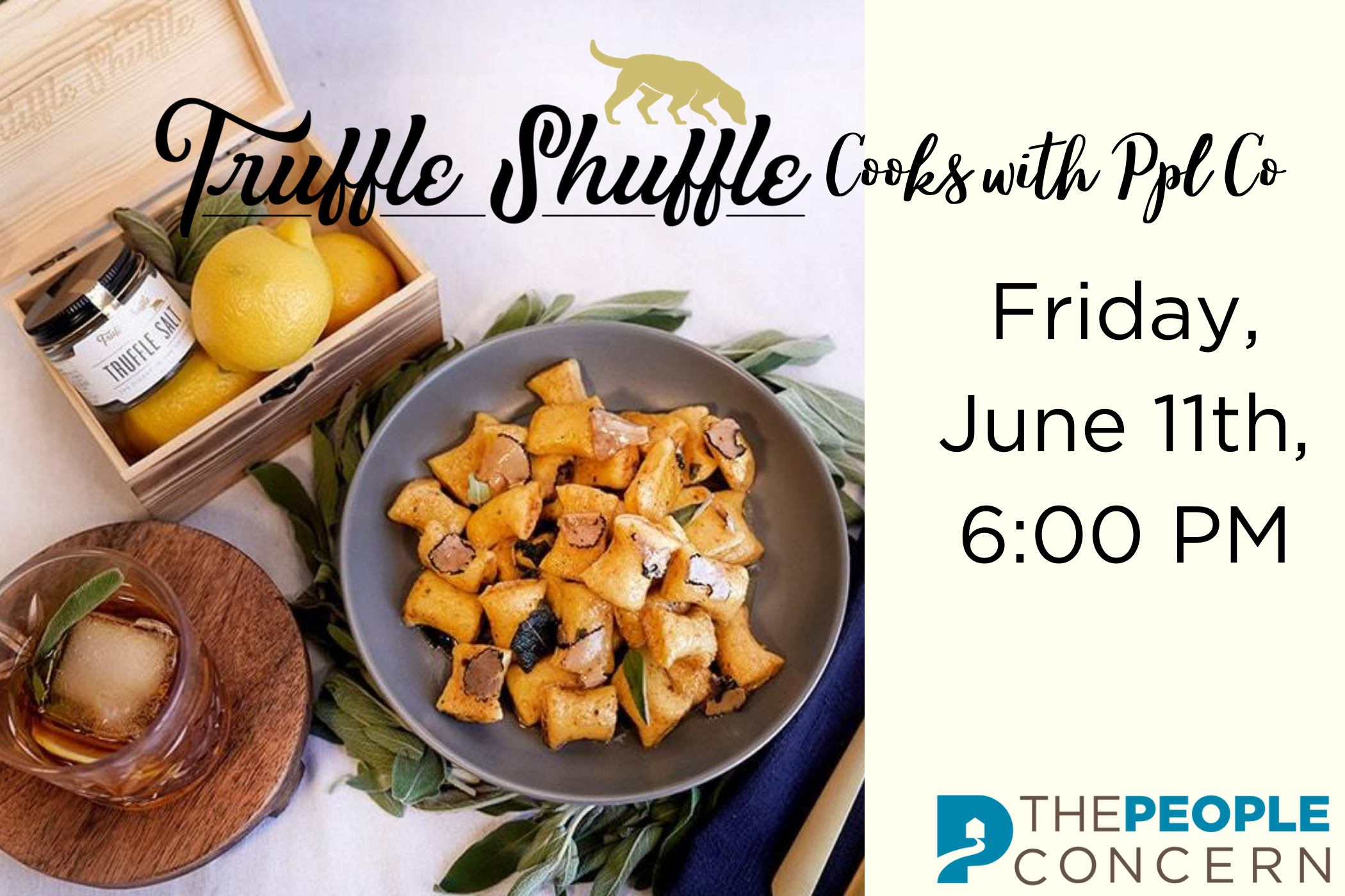 Truffle Shuffle Cooks with Ppl Co
