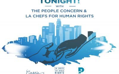 Tonight! With The People Concern and LA Chefs for Human Rights